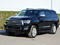 2019 Model Toyota Sequoia Platinum 5.7L V8, 4WD Automatic, В