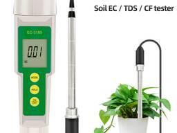 3 в 1 детектор EC / CF / TDS анализатор почвы
