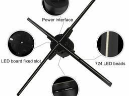 """3D fan display"" 50см проецирующий дисплей вентилятор"