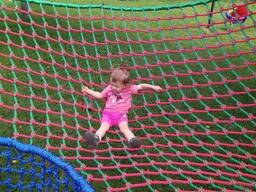 4. Цветные сетки для детски площадку