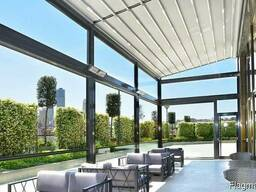 Aluminumstructures, tents, curtains, umbrellas, pergola