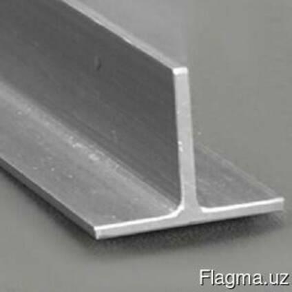 Алюминиевый тавр 15x15x2 мм АД31 ГОСТ 11930.3-79