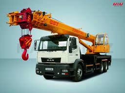 Автокран MAN CLA 31.280 6x4 BB 32 тонн