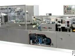 Автоматическая линия по производства влажных салфеток HY-200