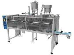 Автоматическая машина для фасовки в готовые пакеты Дой-пак