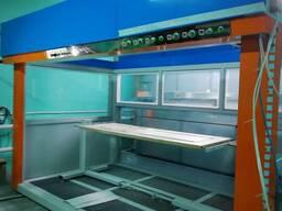 Автоматический покрасочный станок с числовым программным управлением
