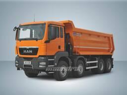 Автосамосвал MAN TGS 41. 400 8x4 BB 30 тонн