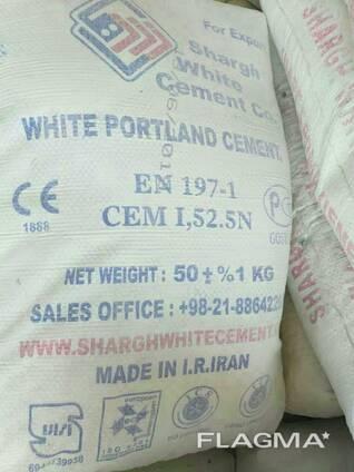 Клинкер. Белый и Серый цемент М500 и М600 пр- во Р. Иран