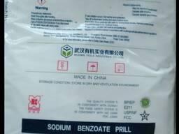 Бензоат натрия порошковая Китай Е211