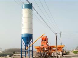 Бетонный завод от 25 куб в час по 180 куб в час