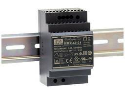 Блок питания HDR-60-24 2.5A MEAN WELL