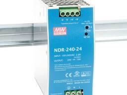 Блок питания NDR-240-24 10A MEAN WELL