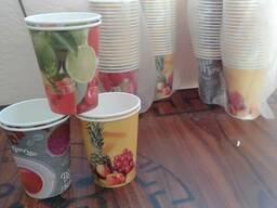 Бумажные стаканчики 250 мл