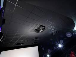 Чёрные потолки и черные стеновые панели Rockfon - фото 2