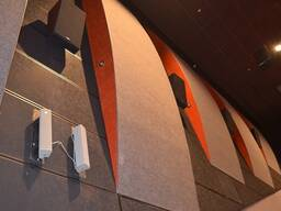 Чёрные потолки и черные стеновые панели Rockfon - фото 5