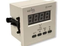 Цифровой вольтметр XD-72V на панель (72х72) однофазный