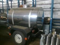 Цистерна прицепная для пищевых жидкостей