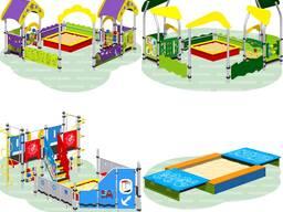 Детские игровые площадки для детских садов Romana