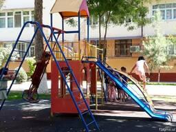 Детские площадки и уличные тренажеры