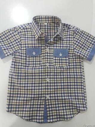 Детские Рубашки из 100% Хлопка