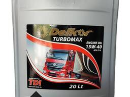Дизельное масло 15W-40 API CI-4/SL DELKOR TURBOMAX