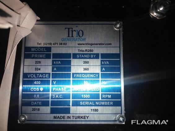 Дизельные генераторы Трио Генератор в Узбекистане (Турция)