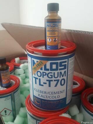 Двухкомпонентный клей nilson topgum tl-t70