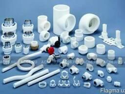Фитинги, полипропиленовые трубы и другие строительные матери