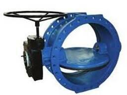 Фланцевый дисковый затвор-двойной эксцентриситет от DN-100