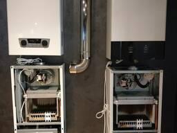 Газовый котел от компании Welkin двухконтурный обогрев до 320 м2