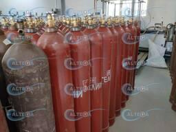 Гелий газообразный высокой чистоты, марка 6. 0 (99, 9999)