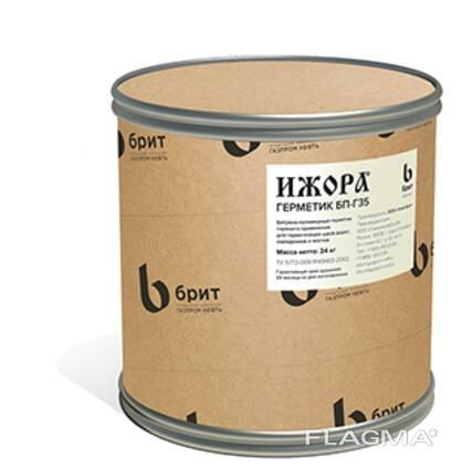Изоляционная мастика «Ижора» МБР-Г-90 Битумно-резиновая мастика горячего применения для из