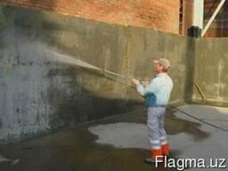 Услуги проникающей или обмазочной гидроизоляционныx работ