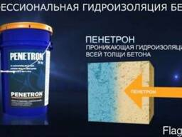 Гидроизоляция бетона системой Пенетрон