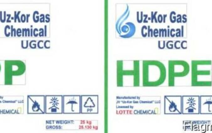 Гранулы полиэтилен, полипропилен сп ооо uz-kor gas chemical