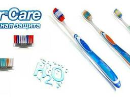 H2o soft, medium, hard toothbrush 1 spare head