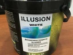 "Декоративное покрытие""Illusion White"" (Иллюзия Уайт)"
