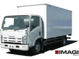 Фургон закрытый металлический Isuzu NPR 82 L CNG