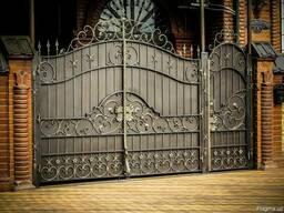 Изготовление Ворот, заборов, навесов, оконных решеток.