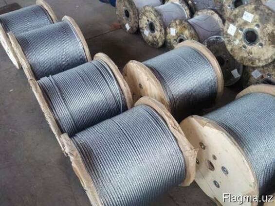 Канат стальной 24 мм 10 ГОСТ 16853-88