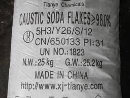 Каустическая сода чешуированная 98%