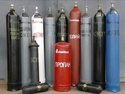 Кислород, пропан, азот, аргон баллоны