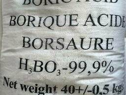 Кислота борная, мешок по 40 кг. Россия