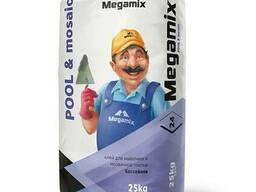 Клей для майолики Megamix 25кг.