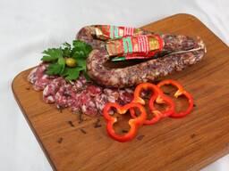 Колбасные изделия сырокопченые и сыровяленые