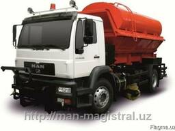 Комбинированная дорожная автомашина MAN CLA 18.280 4x2 BB
