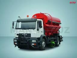 Комбинированная дорожная автомашина СLA 18. 280 4X2 BB