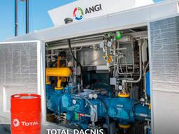Качественное Компрессорное масло АГНКС Total Dacnis 150 Alpha SP 150 Лукойл Стабио 150