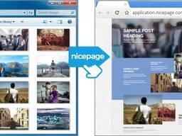 Конструктор сайтов NisePage (Webdesign 3.0)