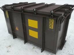Контейнер транспортный для твердых радиоактивных